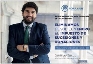 Impuesto Sucesiones y Donaciones Murcia